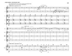 thumbnail of Sarah and Hagar Full Score sample