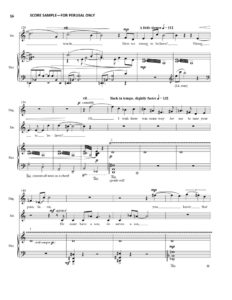 thumbnail of Sarah and Hagar Vocal Score sample